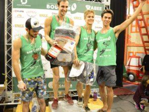 Associados da AGM são premiados na 1º Etapa do Campeonato Brasileiro de Boulder